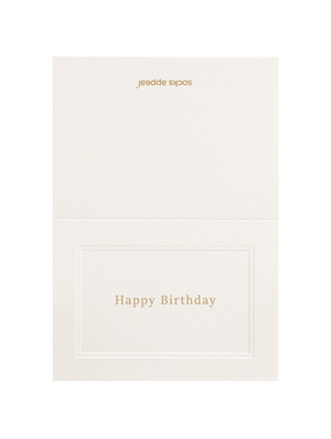 MESSAGE CARD【Happy Birthday】
