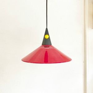 80's Post Modern Style Vintage pendant Lamp オランダ