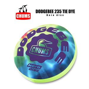 【235mm】チャムス CHUMS ドッヂビー タイダイ 235 フライングディスク フリスビー ドッチビー ドッジビー アウトドア キャンプ 外遊び 軽量 安全 痛くない 柔らかい CH621023 CH62-1023