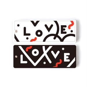 【限定ペアデザイン】2個セットbiblle-LOVEモノトーン‐