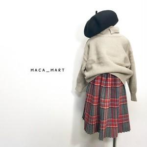 チェックプリーツスカート(90〜120)