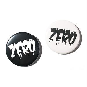 ZERO 缶バッジ [白黒セット]