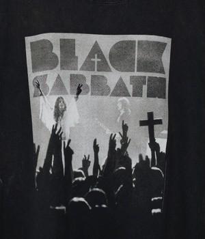 USED BAND T-shirt T-Black Sabbath-