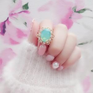 Serenity ring (パシフィックオパール)