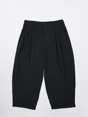 PORTER CLASSIC WEATHER TROUSERS Black PC-026-1448