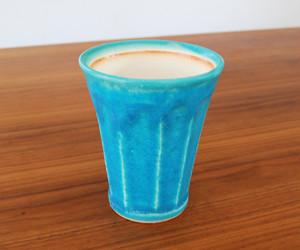 泡うまビアカップ Blue B