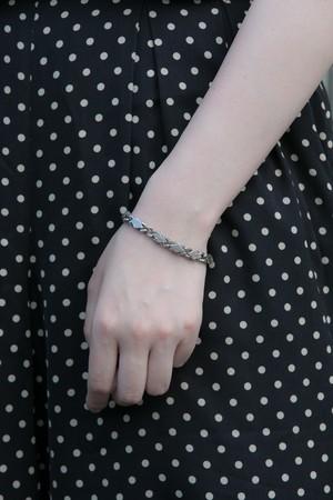【Run Rabbit Run Vintage 】Silver color rhombus bracelet