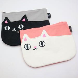 【猫3兄弟】ポケットポーチ 【猫柄 23063】