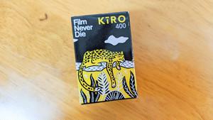【 35mm カラーネガ 】FILM NEVER DIE( フィルムネバーダイ )KIRO400 27枚撮り