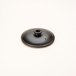 けんこう片手鍋ふた 小サイズ 黒色