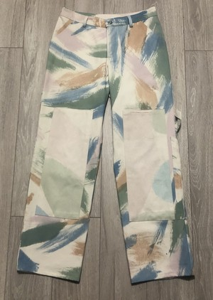COLLINA STRADA PAINTER TROUSERS