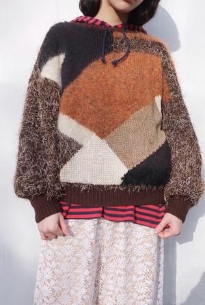 oka wo koete knit sweater.