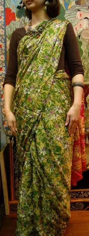 大特価インド高級サリー#4