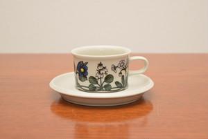 アラビアフローラエスプレッソカップ&ソーサー【ARABIA/Flora】北欧 食器・雑貨 ヴィンテージ | ALKU