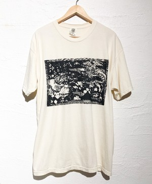 """dib"" SILK-SCREEN PRINTING  T-SHIRT   【Yeah Ahahaha】"