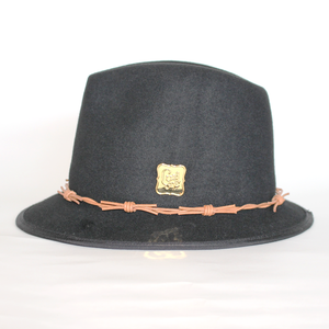 OUTLET / [curione] Basic Wool curione Pin Hat BLK