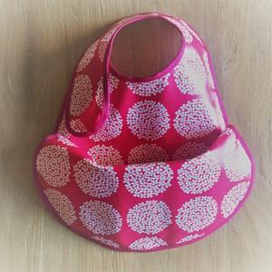 osyokuji apron【F-short】【pink bouquet / pink】