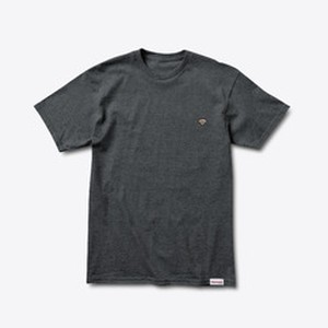 Diamond SUPPLY CO. PATCH TEE CHARCOAL HEATHER