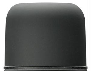 銀未来ボトル ワンプッシュ形 ブラック キャップ GMPB黒-キャップ