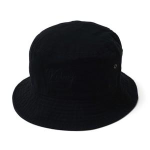 BB LOGO BUCKET HAT【BLACK】