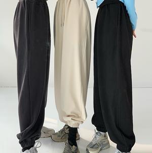Street style high waist loose pants LD0669