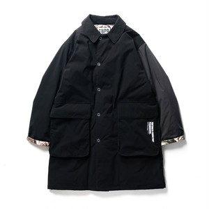 TIGHTBOOTH NEIGHBORHOOD  ISLEY PUFFY C-COAT  BLACK L
