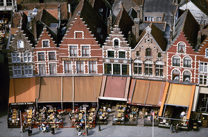 ベルギー ブルージュ マルクト広場
