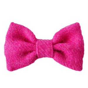HT bowtie Fuchsia pink