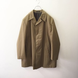 Dhobi オーバーサイズ オープンカラー 比翼 ポリエステル/コットン コート カーキ イングランド製 メンズ 古着