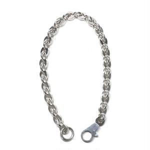 """Hermès Vintage Sterling Silver """"Voltige"""" Chain Link Necklace"""