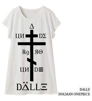 【DALLE】dolman onepiece / 1st <white>