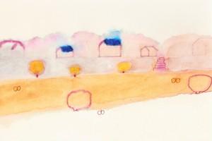 ストックイラスト 「春の眠り」