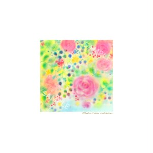 【選べるポストカード3枚セット】No.87 夏の花壇