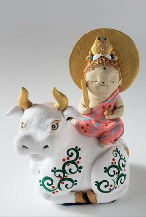虚空像菩薩と白牛