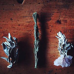 【限定】BUFFALO SAGE + SWEET GRASS + WHITE SAGEの自然香セット