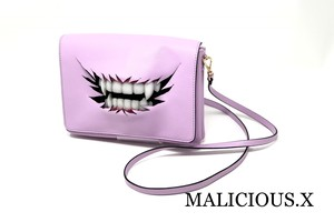 vampire shoulder bag / pink