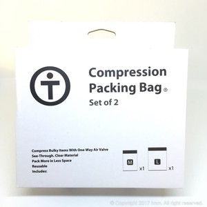 TRAVENEY Compression Packing Pack