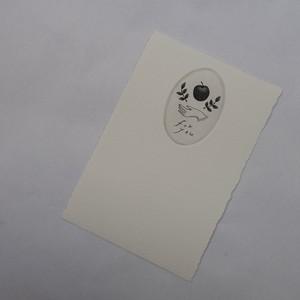 出口春菜 メッセージカード大d(縦向きor横向き)