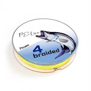 【Provare】PEライン 0.4号 0.6号 0.8号 1号 1.5号 2号 3号 6号  300m 4本編み 日本製ダイニーマ 10mマーカー 釣糸 マルチカラー