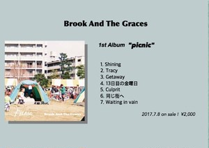 Brook And The  Graces 1st Album『picnic』