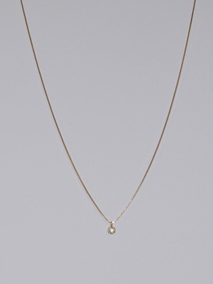 【GIGI】Dew short necklace 390mm