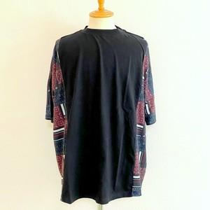 Side Switch Short Sleeve T-shirts Black