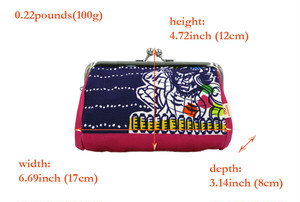 帆布×インクジェットプリント・がまぐちコスメポーチ・ねぶた祭り・日本製