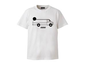 T-SHIRT M319104-WHITE / Tシャツ ホワイト WHITE  / MARATHON JACKSON マラソン ジャクソン
