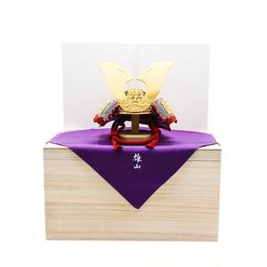 青森県 櫛引八幡宮の国宝 赤糸威鎧の兜 【菊一文字の兜】