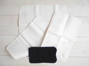 ◆100%自然素材 天然灰汁発酵建て 本藍染◆ 超お薦め!竹布ナプキンパッド(Sサイズ)