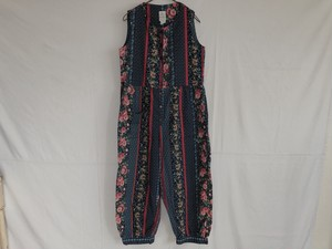 AMERICA 1970-1980's Flower pattern jump suits