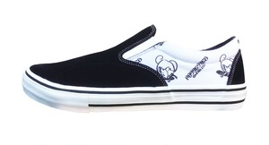 POSSESSED SHOE SKATE GANG 1988 SLIP ON BLACK