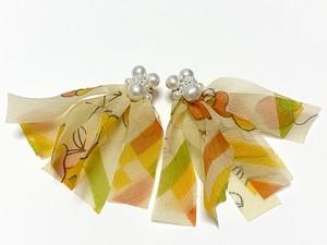 scarf earrings/pierce (2020 B)