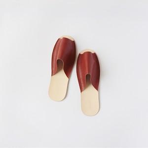 【残り1点】スリッパ Slippers (brown)